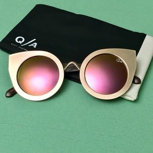 Quay Tainted Love Cat-Eye Sunglasses